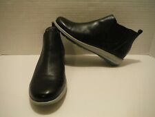 NEW WALKING CRADLES SIZE 7 OSMOND BLACK LEATHER BOOTIE ANKLE BOOT BW02551