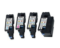 4 Pack High Yield 1660 Toner Cartridges Set For DELL Laser C1660 C1660W Printer