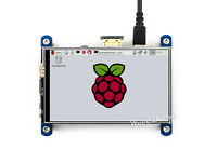 4inch HDMI LCD Module 800×480 Resistive Display IPS Screen for Raspberry Pi