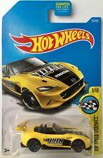 Hot Wheels '15 MAZDA MX-5 MIATA - Yellow 2017 HW Speed Graphics VOLK Rays nd mx5