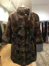 Mink cost brown perfect condition. Medium