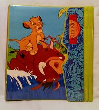 The Lion King Rare Trapper Keeper By Impact International 90's