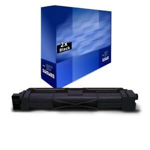 2x Europcart Toner Nero Compatibile Con Brother DCP-L 3510 3550 HL-L 3210