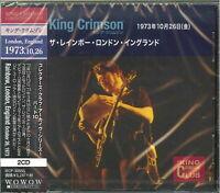 KING CRIMSON-THE RAINBOW LONDON ENGLAND 26 OCTOBER 1973-JAPAN 2 CD H51