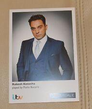 RAKESH KOTECHA/PASHA BOCARIE ITV EMMERDALE UNSIGNED CARD - MINT CONDITION
