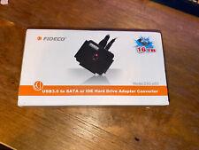 SATA/IDE to USB 3.0 Adapter, Hard Drive Adapter SATA/IDE Cable FIDECO PL03