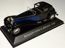 IXO SUPERBE BUGATTI TYPE 41 ROYALE DE 1929  EN BOITE TRANSLUCIDE 1/43