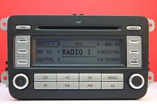 VW Volkswagen RCD 300 MP3 cd radio reproductor & GOLF JETTA PASSAT CADDY TOURAN Código