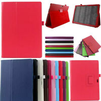 For Microsoft Surface Tablet Premium PU Leather Folding Folio Stand Case Cover