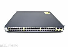 Cisco WS-C3750G-48TS-S 48 Gigabit Ports Layer 3 Switch 3750G-48TS-E ios 15.0-tar