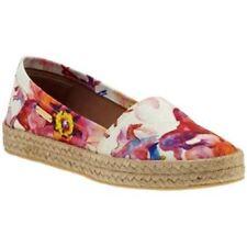 Kaanas St. Lucia Peonies Magenta Espadrille Slip on Shoe Flats 6M 36 $99. NIB