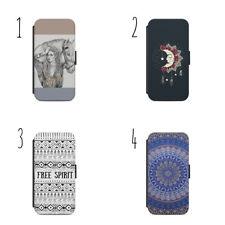 Boho Gypsy Bohemian e37 Flip Wallet phone Case