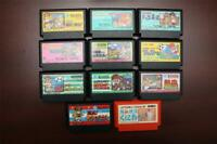 Famicom Nekketsu Koha Kunio-kun series completed 11 Japan FC games lot US Seller