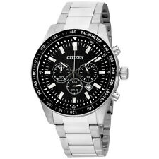 Citizen Black Dial Stainless Steel Men's Watch AN8070-53E