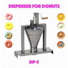 Dispenser Donut Machine Professional Small Business Compact Fryer Maker 80 Pc/h
