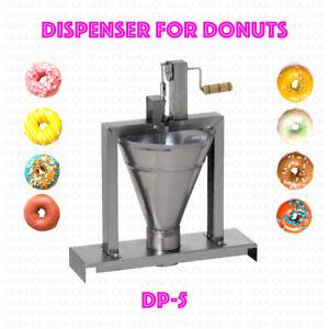Dispenser Donut Machine Professional Small Business Compact Fryer Maker 80 Pc/h
