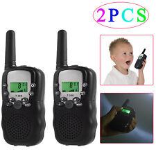2X T-388 Kids Wireless Walkie Talkie Long Range 3km Two-Way Radio set 22FRS GMRS