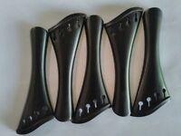 Violin Harp Tailpiece 4/4 Ebony Wood Ebony Fraid Set Of 5 Pieces AAA Quality