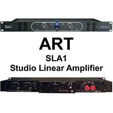 ART SLA1 260w Bridged (1) Rackspace Linear Studio Amplifier