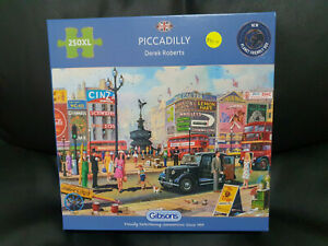 Gibsons G2716 Piccadilly by Derek Roberts 250 XL pce jigsaw puzzle
