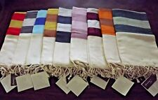 Wholesale 12 Pc Turkish Ultra Soft Cotton Towel Hand Loomed Beach Bath Peshtemal