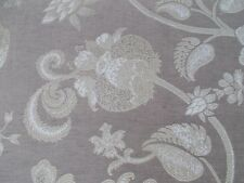 Zoffany Curtain/Upholstery Fabric 'VIVALDI' 1.6 METRES (160cm) Taupe - Woven