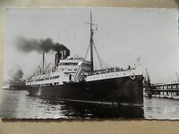Old Posted Postcard Vintage 1958 Steamship Marseille France  b