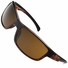 Mako Polarised Sunglassers Shadow - Brown , Lense - Brown