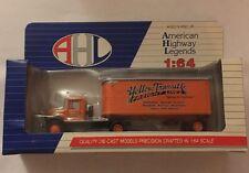 AHL Yellow Transit Co. Mack BM Truck 1:64 Scale Diecast ,NEW