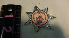 1986  It's Howdy Doody Time Button/Star/Badge