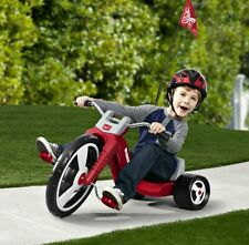 Big Wheel Trike Chopper Tricycle Sport Red Kid Toy Adjustable Seat Boy 3 Wheeler