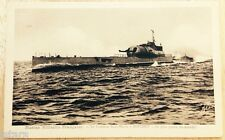 1930s CROISEUR SOUS-MARIN SURCOUF FRENCH NAVY SUBMARINE POSTCARD, FRANCE