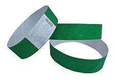 100 Braccialetti Tyvek - braccialetti - Braccialetti evento Verde/green/vert