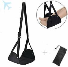 Airplane Foot Rest Hammock - Portable Airplane Footrest Travel Accessories, Foot