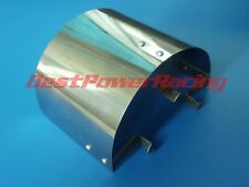 """Universal Stainless Steel Air Filter Heat Shield For 2.25"""" TO 3.5"""" Cone Filter"""
