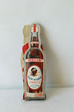 Eventail publicitaire Rhum NEGRITA en forme de bouteille