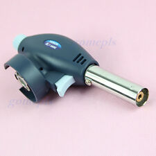 BBQ Gas Torch Flamethrower Butane Burner Auto Ignition Camping Welding Outdoor