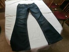 So DESIGNER WOMEN'S JEANS- SZ 11  boot cut cotton stretch - WAIST 32