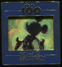 100 One Hundred Mickeys Series MM 001 Silhouette on Green LE Disney Pin 11126