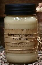 100% Soy Wax 16oz jar candle hand poured scented Sandalwood Vanilla
