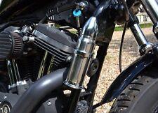 Réserve en métal forme cartouche munition - Chrome (moto custom harley trike )