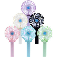 Portable Rechargeable Fan Mini Handy Fan Pocket Size Air Cooler USB w/ Battery