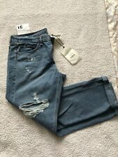 RAG & BONE Boyfriend Jeans Size 31 Distressed Ripped AUTHENTIC