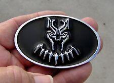 "BLACK PANTHER fits 2 3/4"" Chrysler 300C Grill Replacement CAR EMBLEM 70mm Badge"