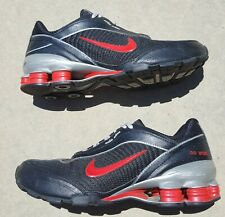 Nike Shox ID NZ Womens US Size 7 Running Shoes BLK Red 318278 991