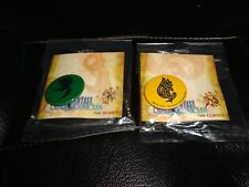 Final Fantasy Crystal Chronicles Collector Pins The Clavats Selkies yellow green