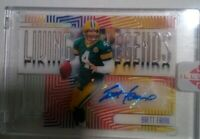 #2 /5 Brett Favre 2019 Illusions Living Legends Auto Acetate Encased Packers SP