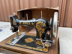 Antique Jones sewing machine
