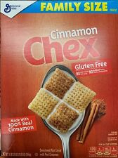 NEW GENERAL MILLS FAMILY SIZE CINNAMON CHEX CEREAL 19.6 OZ BOX GLUTEN FREE BUY