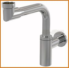 AlcaPLAST Siphon Waschbecken A403 siphon basin saves space !